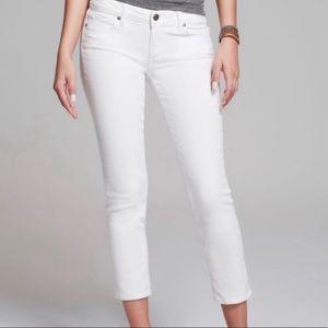 PAIGE Kylie Crop White Jeans Sz 29